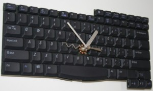 Compy keyboard clock
