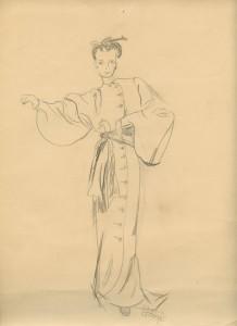 Grandma Phyllis Fashion Drawing 2
