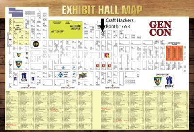 ExhibHall Map with Links