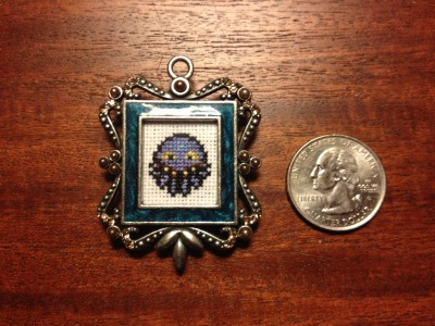 Cross stitch and jewelry, who knew?!