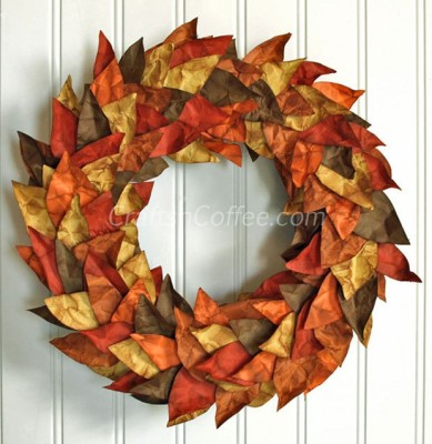 Into scrapbooking? This leaf is for you!