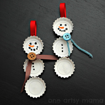 From frosty bottles to frosty crafts!
