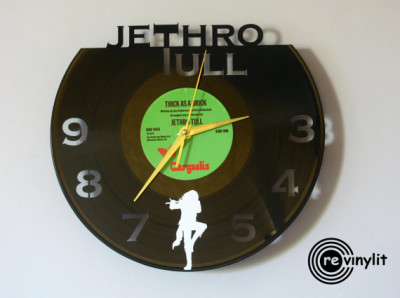 Now your poor copy of Thick as a Brick can live on...as a clock!