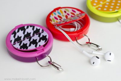 Super adorable and just the right size. No more tangled cords!